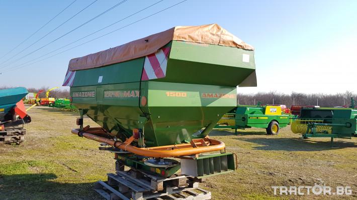 Торачки Amazone ZA-M MAX 3000T 0 - Трактор БГ