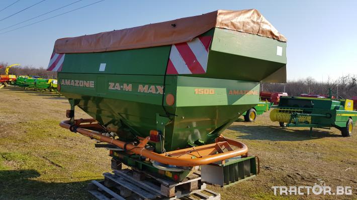 Торачки Amazone ZA-M MAX 3000T 3 - Трактор БГ