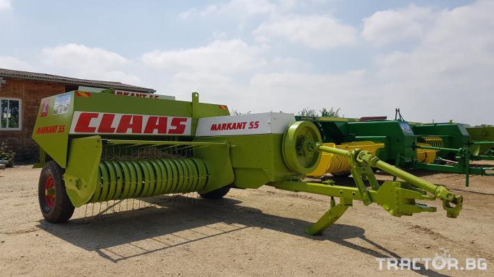 Сламопреси Claas Markant 55 11