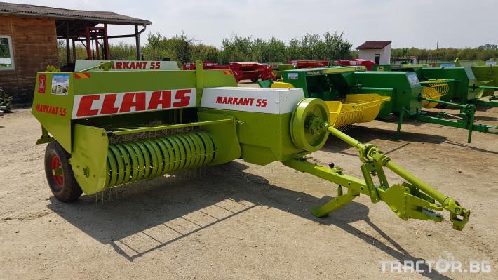 Сламопреси Claas Markant 55 0