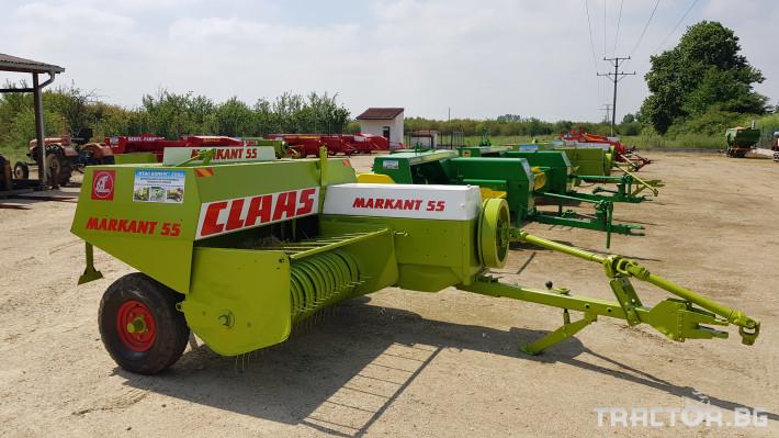 Сламопреси Claas Markant 55 1
