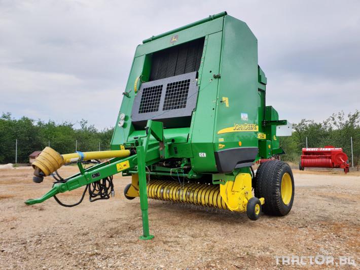 Сламопреси John Deere 592 Мрежа+Сезал 1 - Трактор БГ