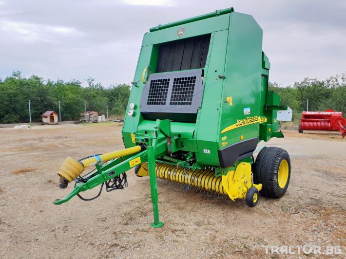 Сламопреси John Deere 592 Мрежа+Сезал 2 - Трактор БГ