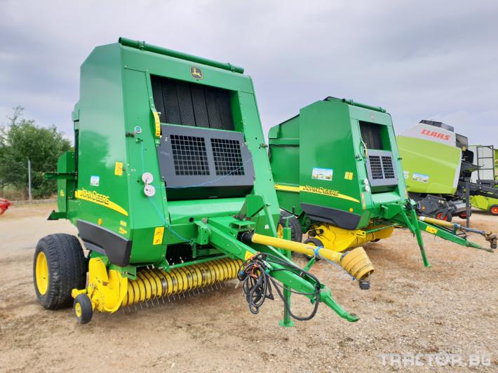 Сламопреси John Deere 592 Мрежа+Сезал 12 - Трактор БГ