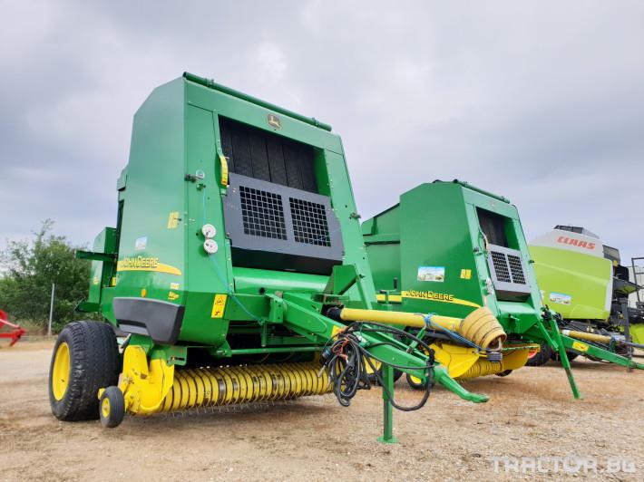 Сламопреси John Deere 592 Мрежа+Сезал 4 - Трактор БГ