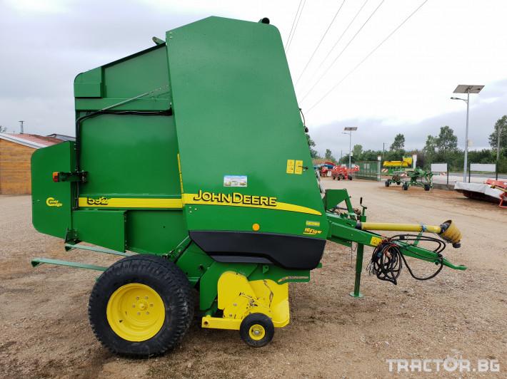 Сламопреси John Deere 592 Мрежа+Сезал 6 - Трактор БГ
