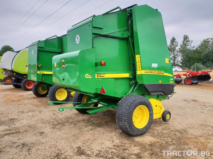 Сламопреси John Deere 592 Мрежа+Сезал 9 - Трактор БГ
