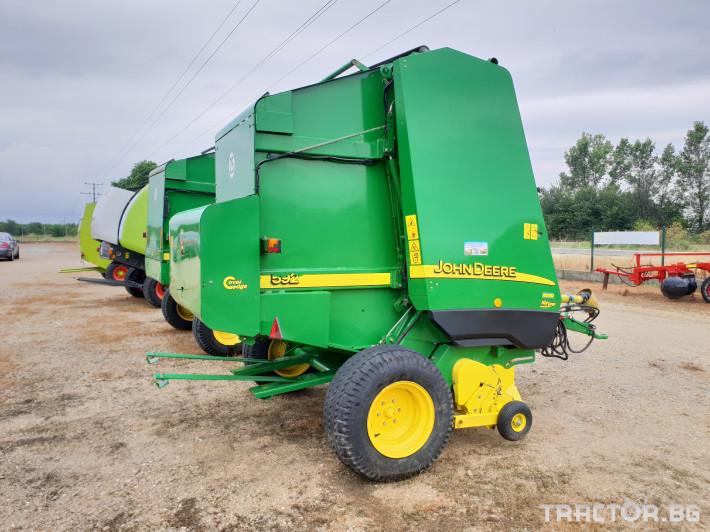 Сламопреси John Deere 592 Мрежа+Сезал 10 - Трактор БГ
