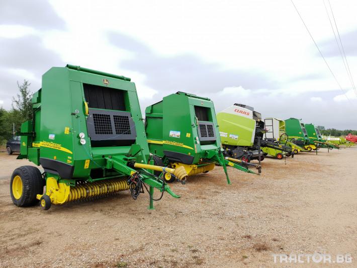 Сламопреси John Deere 592 Мрежа+Сезал 11 - Трактор БГ