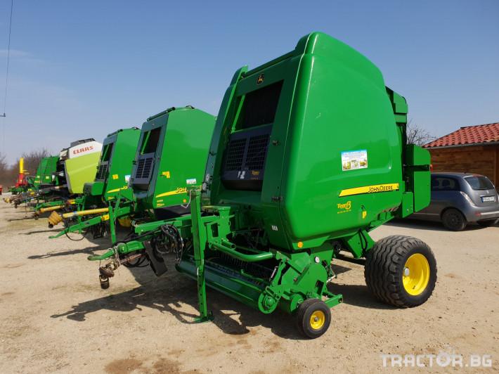 Сламопреси John-Deere 864 0 - Трактор БГ