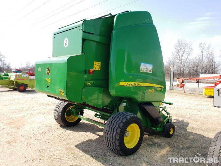 Сламопреси John-Deere 864 6 - Трактор БГ