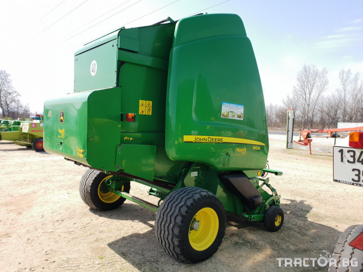 Сламопреси John-Deere 864 7 - Трактор БГ