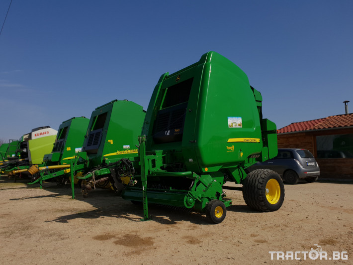 Сламопреси John-Deere 864 9 - Трактор БГ