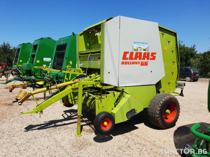 Сламопреси Claas Rollant 66 15