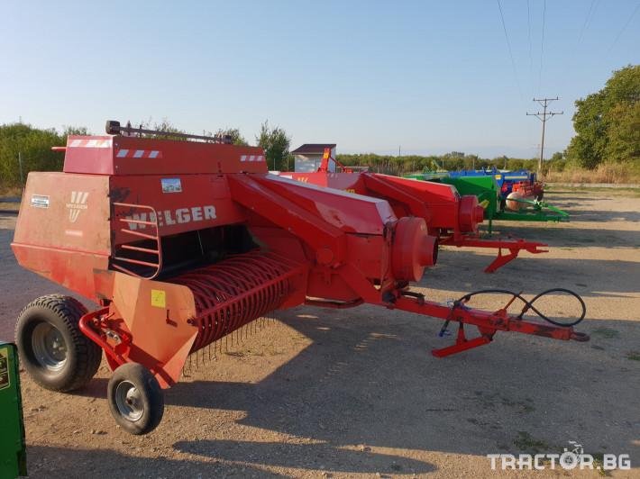 Сламопреси Welger AP63 3 - Трактор БГ