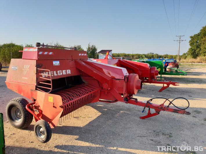 Сламопреси Welger AP63 4 - Трактор БГ