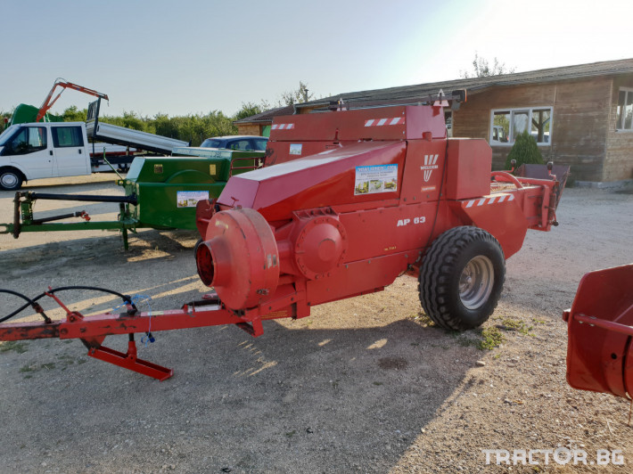 Сламопреси Welger AP63 5 - Трактор БГ