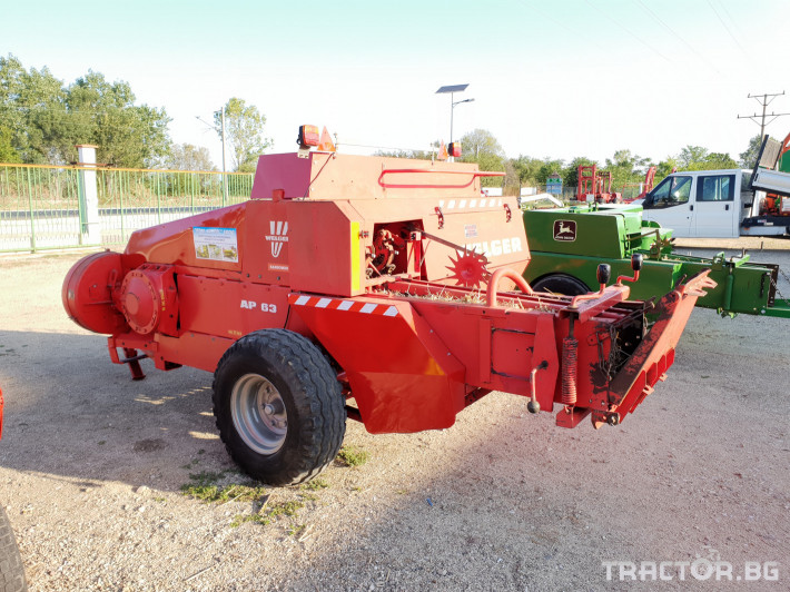 Сламопреси Welger AP63 6 - Трактор БГ
