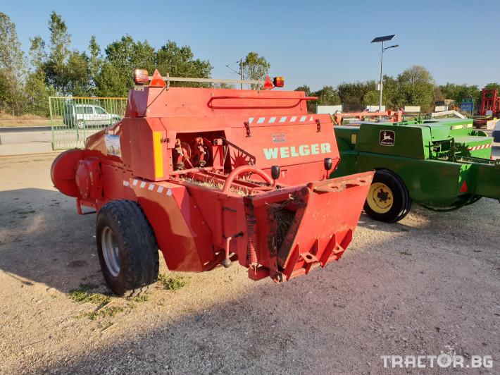 Сламопреси Welger AP63 8 - Трактор БГ