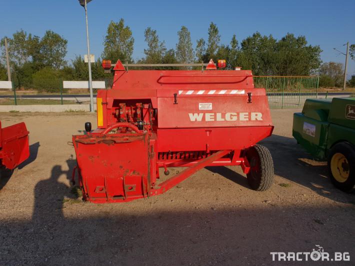 Сламопреси Welger AP63 9 - Трактор БГ