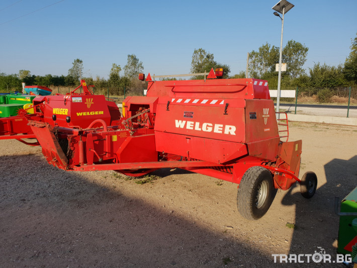 Сламопреси Welger AP63 10 - Трактор БГ