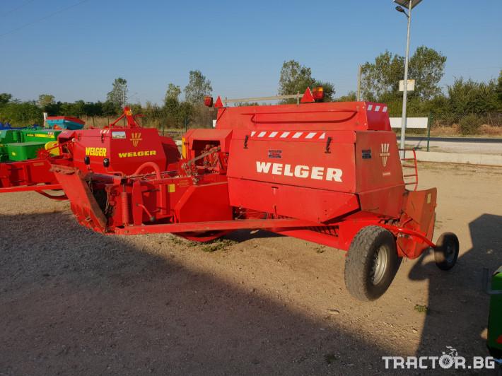 Сламопреси Welger AP63 11 - Трактор БГ