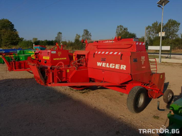 Сламопреси Welger AP63 12 - Трактор БГ