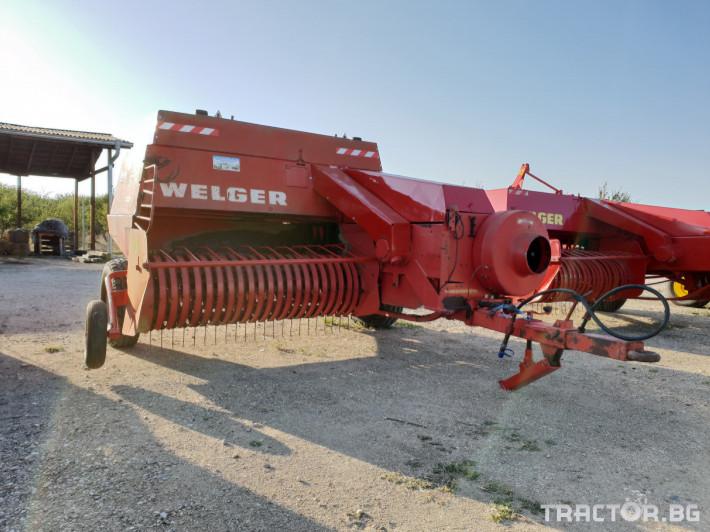 Сламопреси Welger AP63 14 - Трактор БГ
