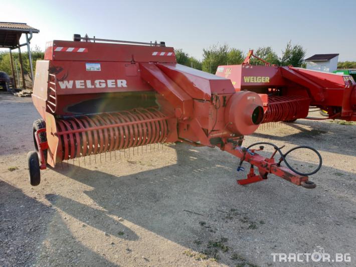 Сламопреси Welger AP63 15 - Трактор БГ