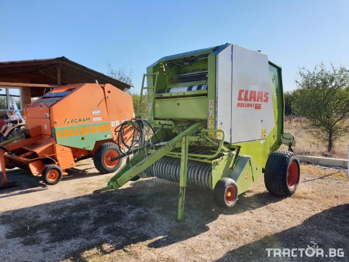 Сламопреси Claas Rollant 66 Мрежа+Сезал 0 - Трактор БГ