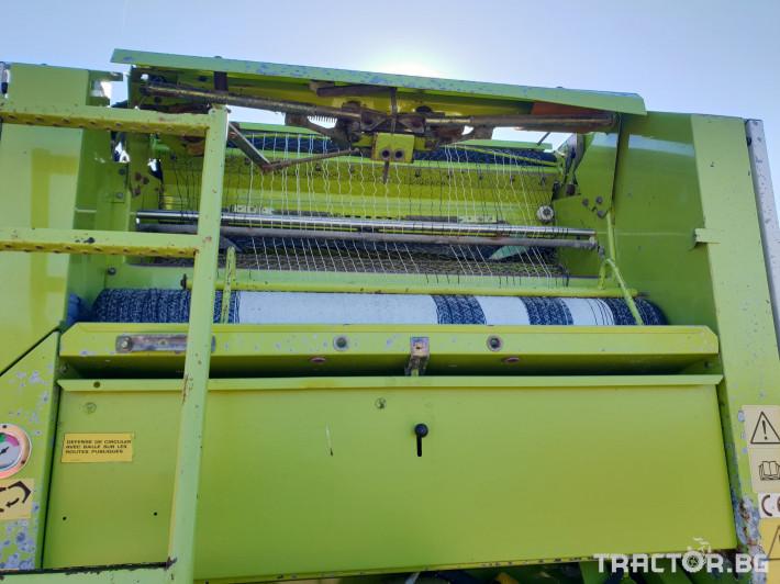 Сламопреси Claas Rollant 66 Мрежа+Сезал 2 - Трактор БГ