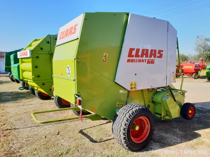 Сламопреси Claas Rollant 66 Мрежа+Сезал 3 - Трактор БГ