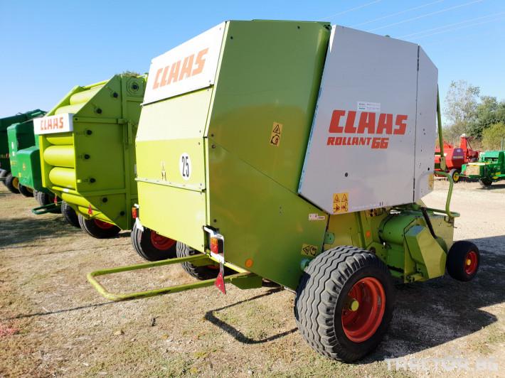 Сламопреси Claas Rollant 66 Мрежа+Сезал 4 - Трактор БГ
