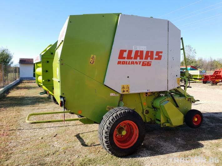 Сламопреси Claas Rollant 66 Мрежа+Сезал 5 - Трактор БГ