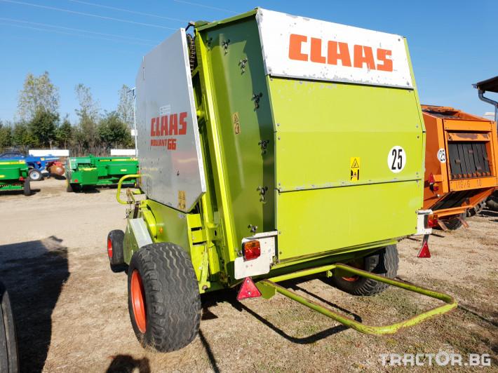 Сламопреси Claas Rollant 66 Мрежа+Сезал 6 - Трактор БГ