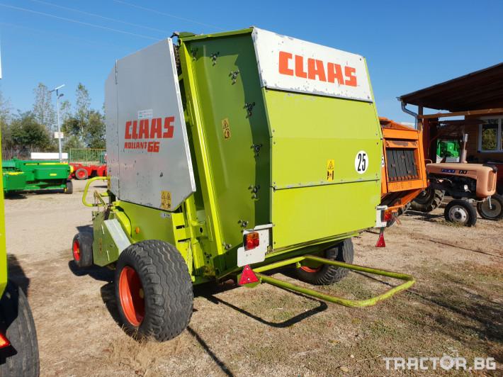 Сламопреси Claas Rollant 66 Мрежа+Сезал 7 - Трактор БГ
