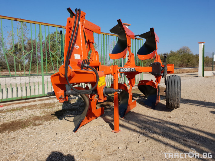 Плугове KUHN MASTER 103/НОВ/ 13 - Трактор БГ
