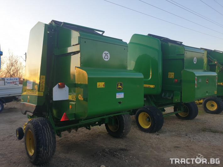 Сламопреси John-Deere 592 мрежа+сезал 3 - Трактор БГ