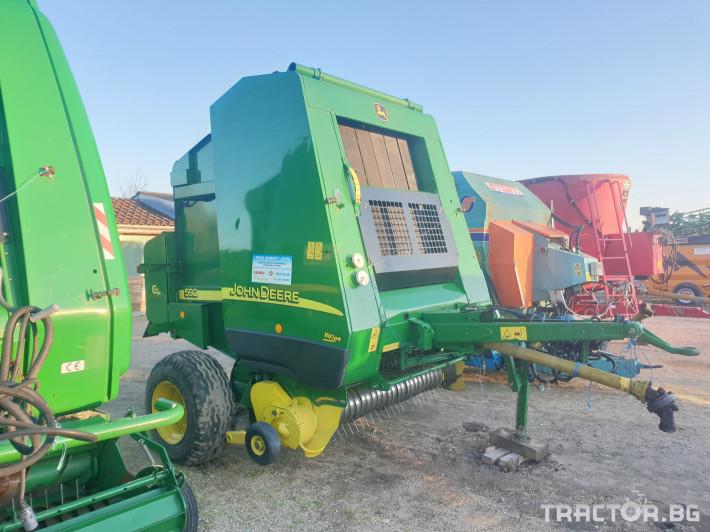 Сламопреси John-Deere 592 мрежа+сезал 6 - Трактор БГ